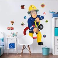 Brandweerman Sam Muursticker 122 cm