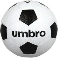Bal Umbro straat zwart/wit
