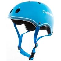 Helm Globber junior fluor blauw