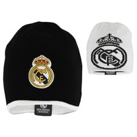 Muts real madrid wit/zwart senior reversible