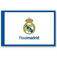 Vlag real madrid groot 150x100 cm logo