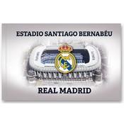 Vlag real madrid groot 150x100 cm stadion
