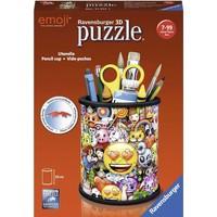 Puzzel Emoji pennenbak 3d: 54 stukjes