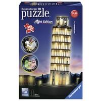 Puzzel Toren van Pisa Night 3d: 216 stukjes