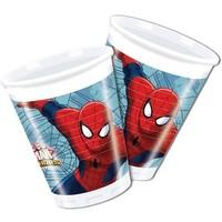 Bekertjes Spider-Man 200 ml: 8 stuks