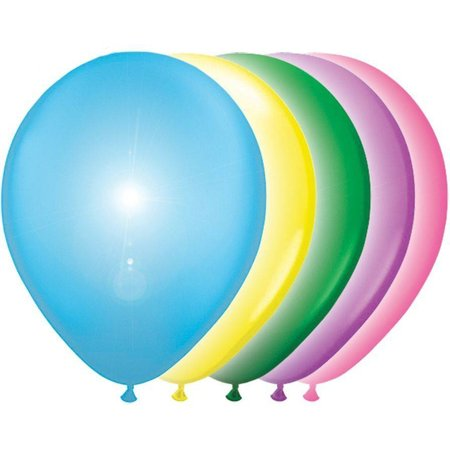 Ballonnen met LED verlichting 5 stuks - SinQel