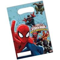 Feestzakjes Spider-Man: 6 stuks