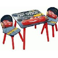Tafel met stoeltjes Cars 3