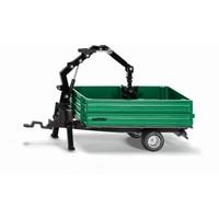 Oehler kombiwagen met kraan SIKU