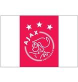 AJAX Amsterdam Vlag ajax reus 150x225 cm rood/wit logo