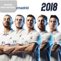 Kalender real madrid 2018: 30x30 cm