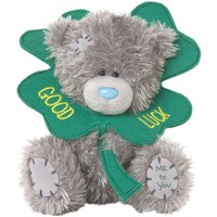 Pluche Me to You: good luck leaf clover 13 cm