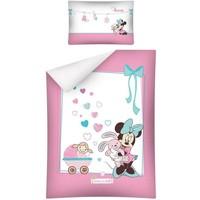 Dekbedovertrek Minnie Mouse ledikant 100x135/40x60 cm
