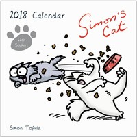 Kalender Simons Cat 2018: 30x30 cm