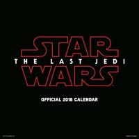 Kalender Star Wars Last Jedi: 30x30 cm