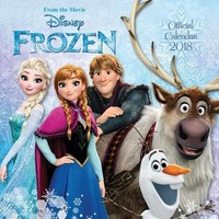 Kalender Frozen 2018: 30x30 cm