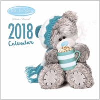 Kalender Me To You 2018: 30x30 cm