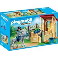 Appaloosa met paardenbox Playmobil