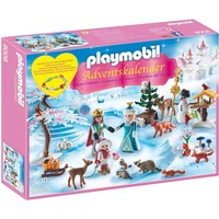 Adventskalender koninklijk schaatsfeest Playmobil