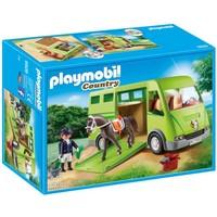 Paardenvrachtwagen Playmobil