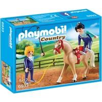 Voltigeteam met paard Playmobil