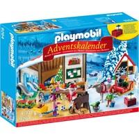 Adventskalender Kerstatelier met elfen Playmobil