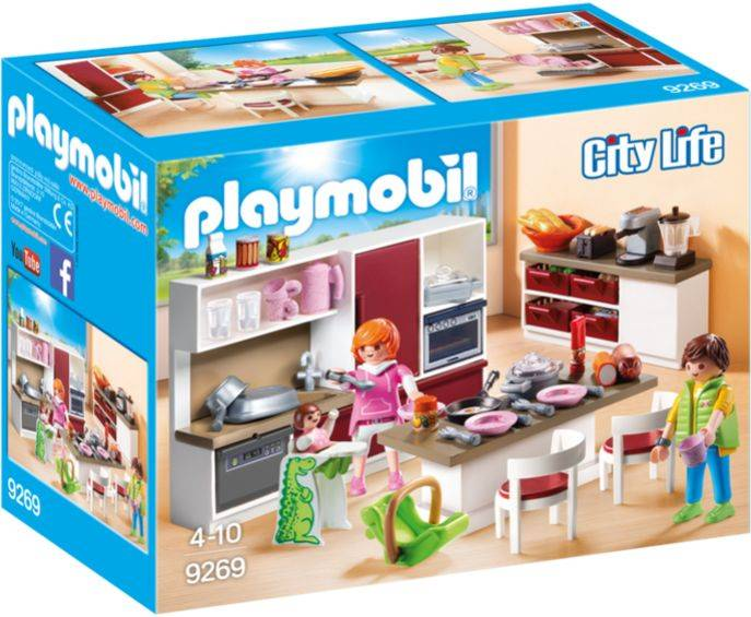 Leefkeuken Playmobil
