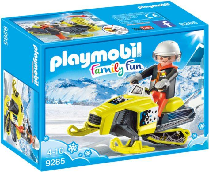 Sneeuwscooter Playmobil