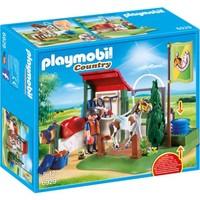 Paardenwasplaats Playmobil