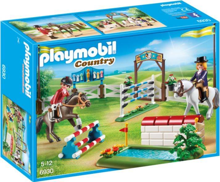 Paardenwedstrijd Playmobil
