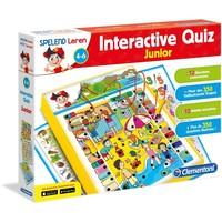 Spelend leren: interactive quiz junior Clementoni