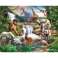 Behang jungle avontuur Walltastic 245x305 cm