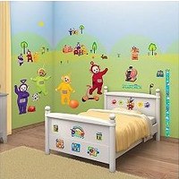 Muursticker Teletubbies Walltastic 52 stickers