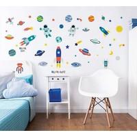 Muursticker ruimte Walltastic 55 stickers