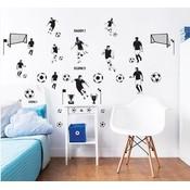 Muursticker voetbal Walltastic 40 stickers