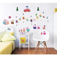 Muursticker Peppa Pig Walltastic 39 stickers