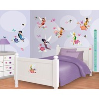 Muursticker Fairies Walltastic: 78 stickers