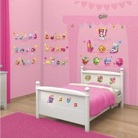 Muursticker Shopkins Walltastic: 86 stickers