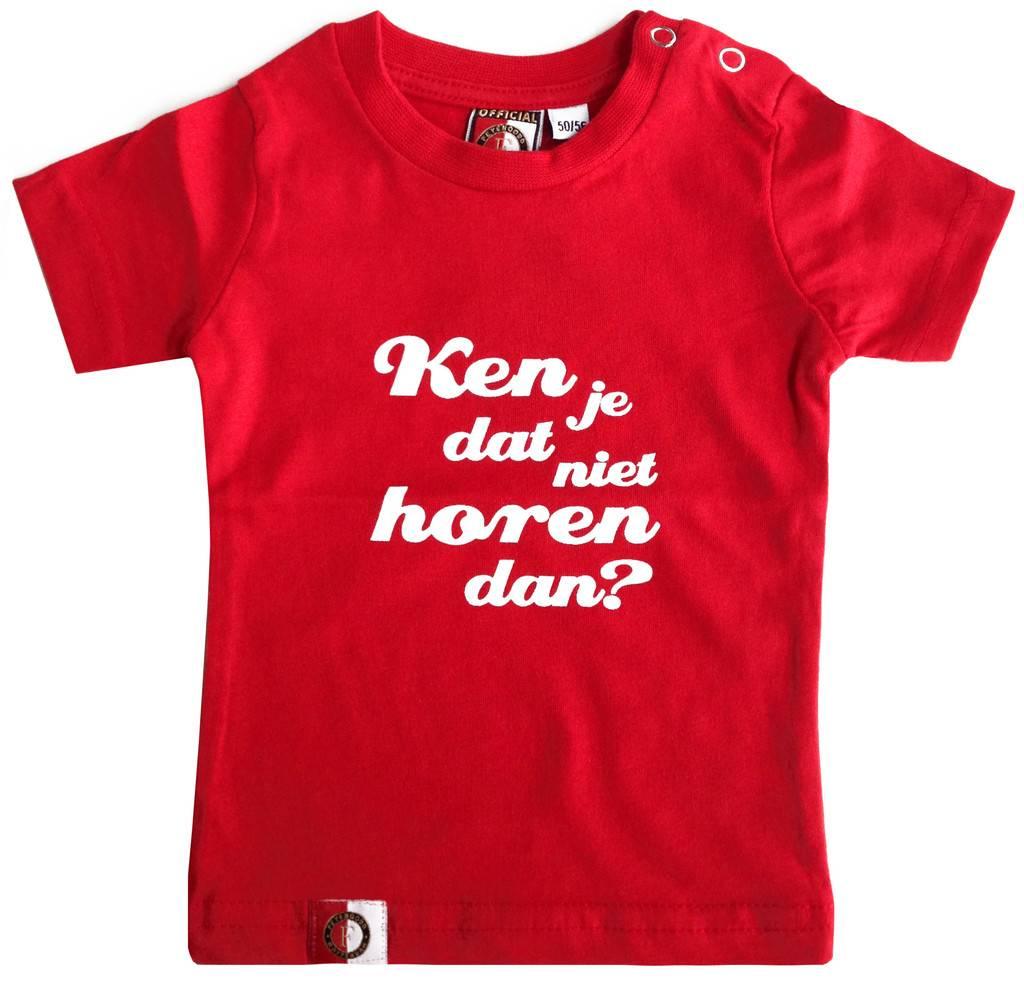 Feyenoord Rotterdam - Baby t - shirt feyenoord ken je dat