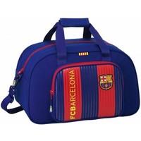 Sporttas barcelona rood/blauw classic : 40x25x23 cm
