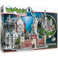 Puzzel Wrebbit Neuschwanstein 3d: 890 stukjes