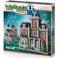 Puzzel Wrebbit Victorian Cottage 3d: 465 stukjes