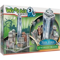 Puzzel Wrebbit Trade Center New York 3d: 875 stukjes