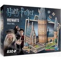 Puzzel Wrebbit Harry Potter Hall 3d: 850 stukjes