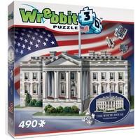 Puzzel Wrebbit White House 3d: 490 stukjes