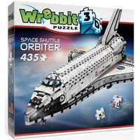 Puzzel Wrebbit Space Shuttle 3d: 435 stukjes