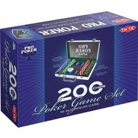 Pro Poker koffer: 200 chips