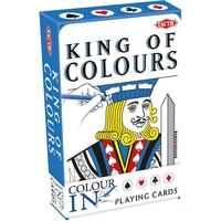 Speelkaarten Colour-In: King/Queen of Colours