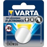 Knoopcel Varta Professional Lithium CR2016: 3V