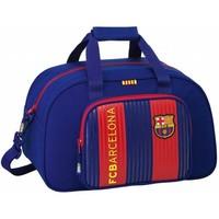 Sporttas barcelona rood/blauw classic  40x25x23 cm